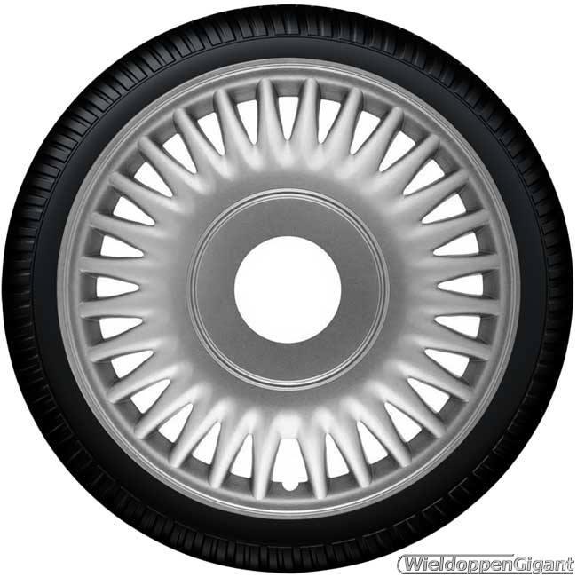 Wieldoppen set CATO SPRINTER S in zilver in 14 en 15 inch