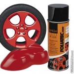Spuitbus verwijderbare rode folie spray inhoud 400 ml