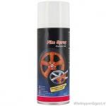 Spuitbus verwijderbare oranje folie spray inhoud 400 ml