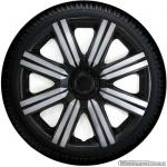 Wieldoppen set COSMOS BS in zwart-zilver van 13 inch t/m 15 inch
