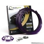 AlloyGator Exclusive PAARS kunststof velgbeschermer. Set a 4 stuks voor velgen van 12 tm 24 inch