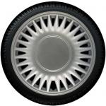 Wieldoppen set  CATO S in zilver in 14 en 15 inch