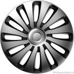 LOSSE wieldop SEPANG GTS in zilver-zwart van 13 inch t/m 16 inch