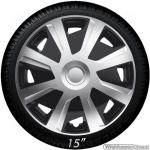 Bolle wieldoppen set MISTRAL-Van GTS in zilver-zwart in 15 en 16 inch