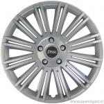 LOSSE wieldop DISCOVERY S in zilver met wielmoerkapjes van 13 inch t/m 15 inch