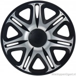 LOSSE wieldop NASCAR BS in zwart-zilver van 13 inch t/m 16 inch