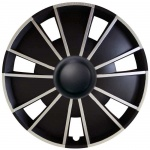 LOSSE wieldop EMOTION BS in zwart-zilver van 13 inch t/m 15 inch