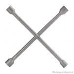 Kruissleutel vast voor 17-19-21 en 23 mm wielbouten en -moeren