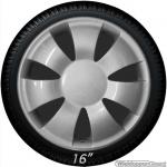 Bolle wieldoppen set VANCY-S NYLON in zilver in 15 en 16 inch