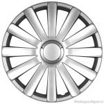 LOSSE wieldop SPIDER in zilver met chroom ring van 13 inch t/m 17 inch