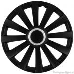 LOSSE wieldop SPIDER in zwart met chroom ring van 13 inch t/m 17 inch