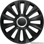 LOSSE wieldop AVALONE in zwart met chroom ring van 13 inch t/m 16 inch