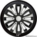 Wieldoppen set AVALONE-SB in zilver-zwart van 13 inch t/m 16 inch