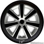 Wieldoppen set VR SB in zilver-zwart van 13 inch t/m 16 inch