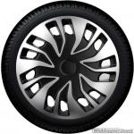 Bolle wieldoppen set FAST VAN SB in zilver-zwart in 15 en 16 inch