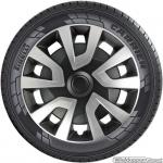 Bolle wieldoppen set REVO Van SB in zilver-zwart in 15 en 16 inch