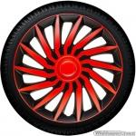 Wieldoppen set KENDO-BRS rood-zwart van 13 inch t/m 16 inch