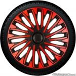 Wieldoppen set SOHO-BRS rood-zwart van 13 inch t/m 16 inch