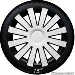 Wieldoppen set AGAT-WB in zwart-wit van 13 inch t/m 16 inch