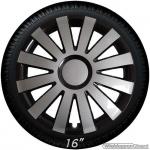 Wieldoppen set ONYX-GB antraciet grijs-zwart met ring van 13 inch t/m 16 inch