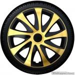 Wieldoppen set DRAGON BGS gouden spaken met zwarte accenten van 13 inch t/m 16 inch