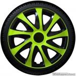 Wieldoppen set DRAGON Monster groene spaken met zwarte accenten van 13 inch t/m 16 inch