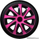 Wieldoppen set DRAGON BPS pink spaken met zwarte accenten van 13 inch t/m 16 inch