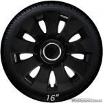 Wieldoppen set AURA B in zwart van 13 inch t/m 16 inch