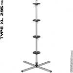 Aluminium velgenboom XL max bandbreedte 295 mm