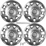 Wieldoppen set REPLICA 14 inch voor Volkswagen Caddy en Polo