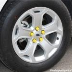 Siliconen wielmoerkapjes geel 17 mm set a 20 stuks